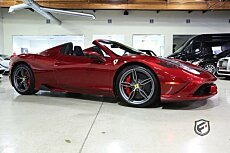 2015 Ferrari 458 Italia Speciale A Spider for sale 100790959