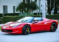 2015 Ferrari 458 Italia Spider for sale 100815778