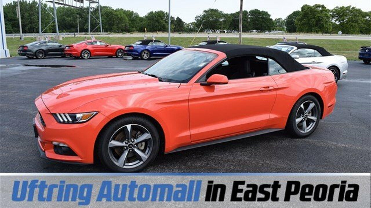 2015 Ford Mustang Convertible for sale 100880677