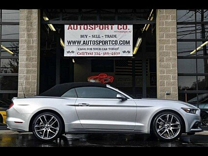 2015 Ford Mustang Convertible for sale 100952199