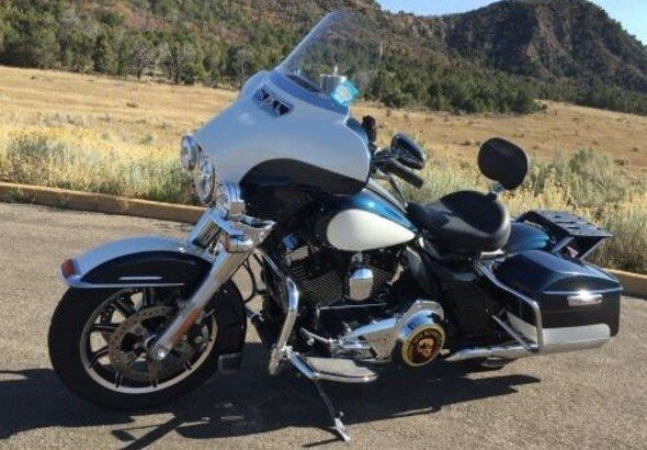 Police motorcycle for sale