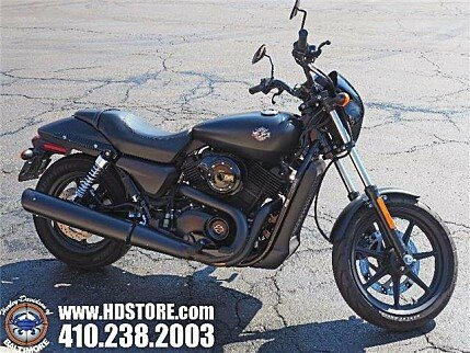 2015 Harley-Davidson Street 500 for sale 200550485