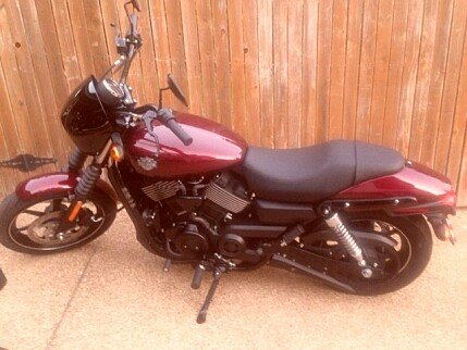 2015 Harley-Davidson Street 750 for sale 200424790