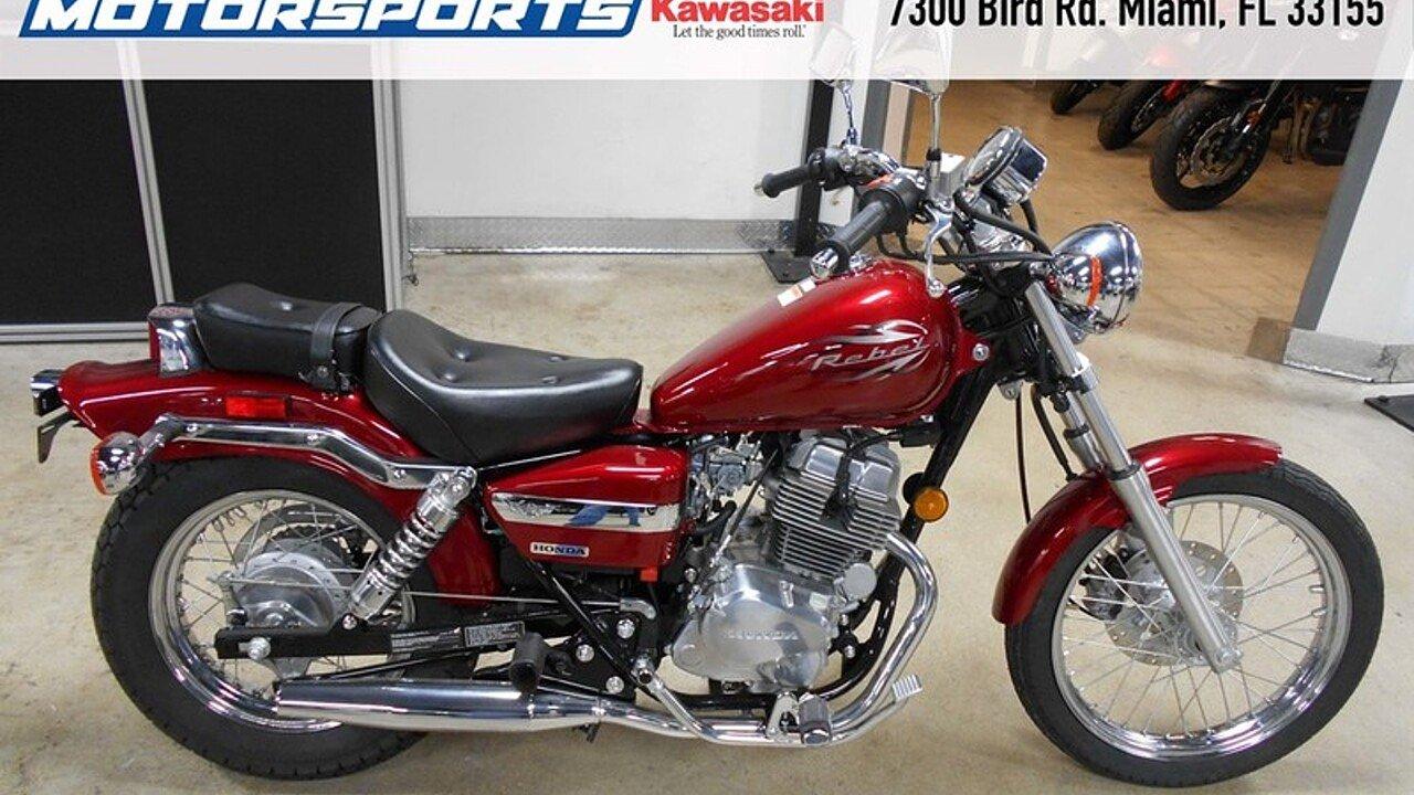 2015 honda rebel 250 for sale near miami florida 33155 motorcycles on autotrader. Black Bedroom Furniture Sets. Home Design Ideas