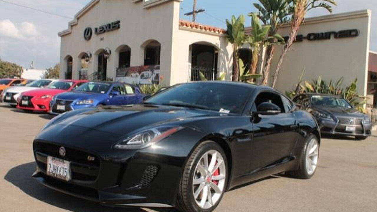 Jaguar FTYPE S Coupe For Sale Near SANTA MONICA California - 2015 jaguar f type s