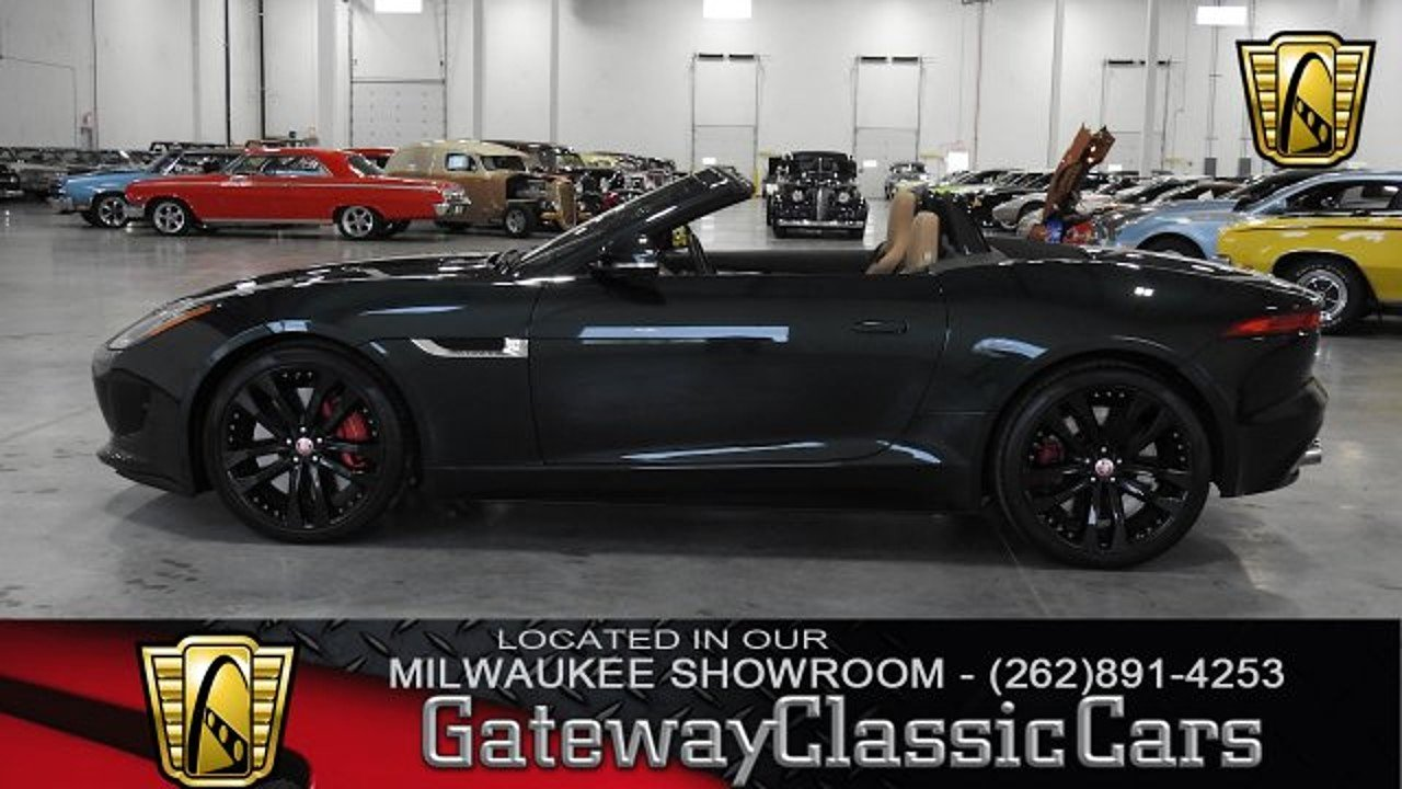 2015 jaguar f type v8 s convertible for sale near o fallon illinois 62269 classics on autotrader. Black Bedroom Furniture Sets. Home Design Ideas