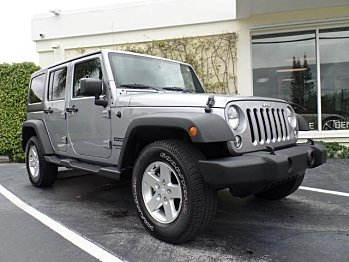 2015 Jeep Wrangler 4WD Unlimited Sport for sale 100789240