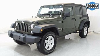 2015 Jeep Wrangler 4WD Unlimited Sport for sale 100898210