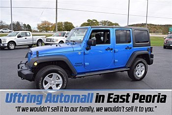 2015 Jeep Wrangler 4WD Unlimited Sport for sale 100916460