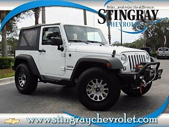 2015 Jeep Wrangler 4WD Sport for sale 100925141