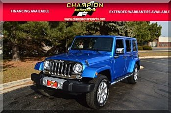 2015 Jeep Wrangler 4WD Unlimited Sahara for sale 100940116