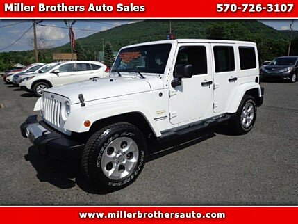 2015 Jeep Wrangler 4WD Unlimited Sahara for sale 100888192