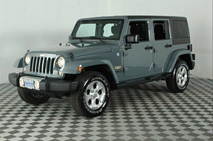 2015 Jeep Wrangler 4WD Unlimited Sahara for sale 100917131