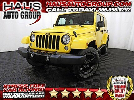 2015 Jeep Wrangler 4WD Unlimited Sahara for sale 100931825