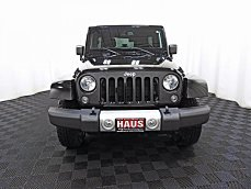 2015 Jeep Wrangler 4WD Unlimited Sahara for sale 100944426