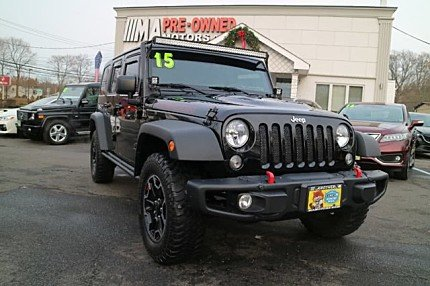 2015 Jeep Wrangler 4WD Unlimited Rubicon for sale 100946364
