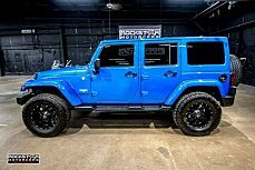 2015 Jeep Wrangler 4WD Unlimited Sahara for sale 100953087