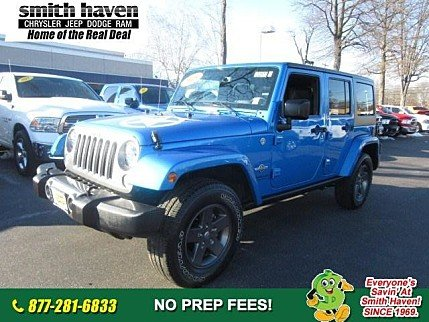 2015 Jeep Wrangler 4WD Unlimited Sport for sale 100954206