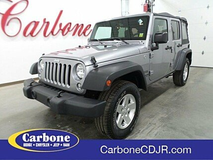 2015 Jeep Wrangler 4WD Unlimited Sport for sale 100977391