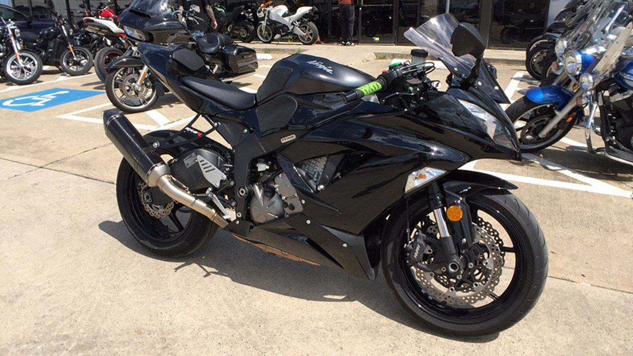 2015 Kawasaki Ninja ZX-6R for sale 200550304