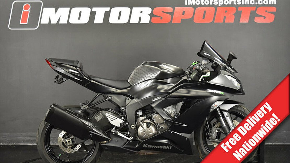 2015 Kawasaki Ninja ZX-6R for sale 200598384