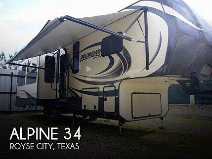 2015 Keystone Alpine for sale 300169258