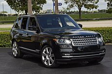 2015 Land Rover Range Rover Autobiography for sale 100721012