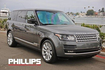 2015 Land Rover Range Rover Long Wheelbase Supercharged for sale 100901203