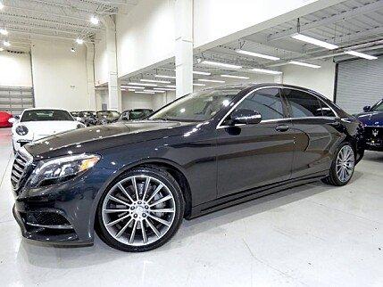 2015 Mercedes-Benz S550 Sedan for sale 100926917