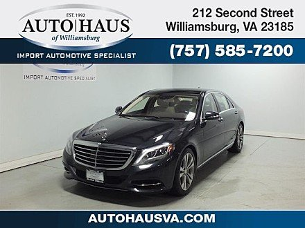 2015 Mercedes-Benz S550 4MATIC Sedan for sale 100955974