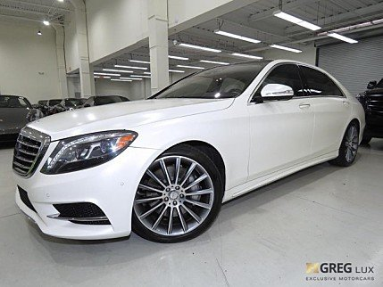 2015 Mercedes-Benz S550 Sedan for sale 100962209