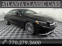 2015 Mercedes-Benz S550 4MATIC Coupe for sale 101046070
