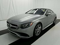2015 Mercedes-Benz S63 AMG 4MATIC Coupe for sale 100958718