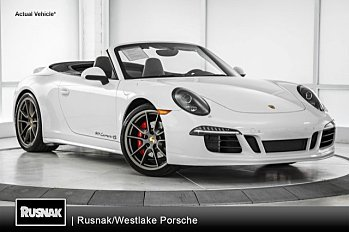 2015 Porsche 911 Cabriolet for sale 100950910