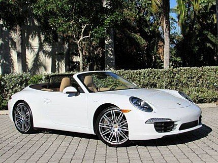 2015 Porsche 911 Carrera Cabriolet for sale 100931724