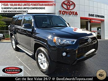 2015 Toyota 4Runner 4WD for sale 100924062