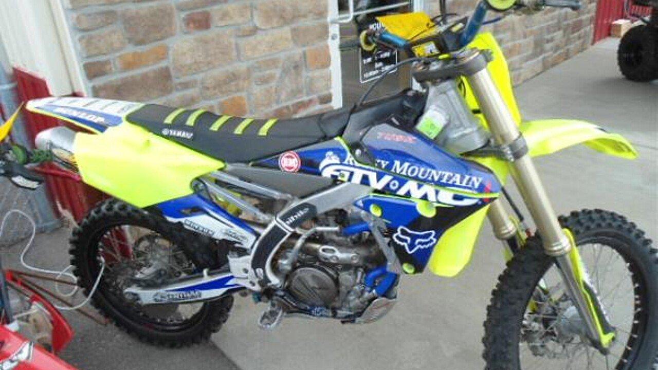 2015 Yamaha YZ250F for sale 200498232