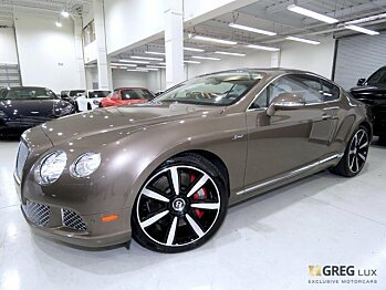 2015 bentley Continental GT Speed Coupe for sale 100976528