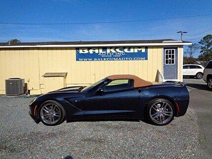 2015 chevrolet Corvette Convertible for sale 101036645