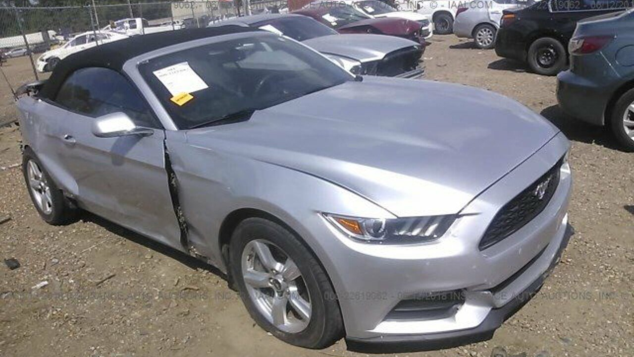 2015 ford mustang convertible for sale near north miami beach