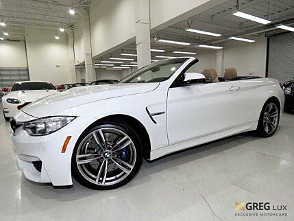 2016 BMW M4 Convertible for sale 100915780