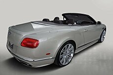 2016 Bentley Continental GTC Speed Convertible for sale 100735296