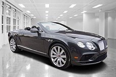 2016 Bentley Continental GT V8 Convertible for sale 100735306