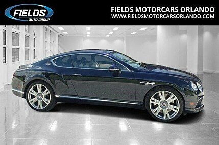 2016 Bentley Continental GT V8 Coupe for sale 100770515