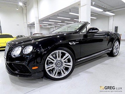 2016 Bentley Continental GT Convertible for sale 100955379