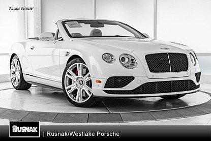 2016 Bentley Continental GT V8 S Convertible for sale 101036660