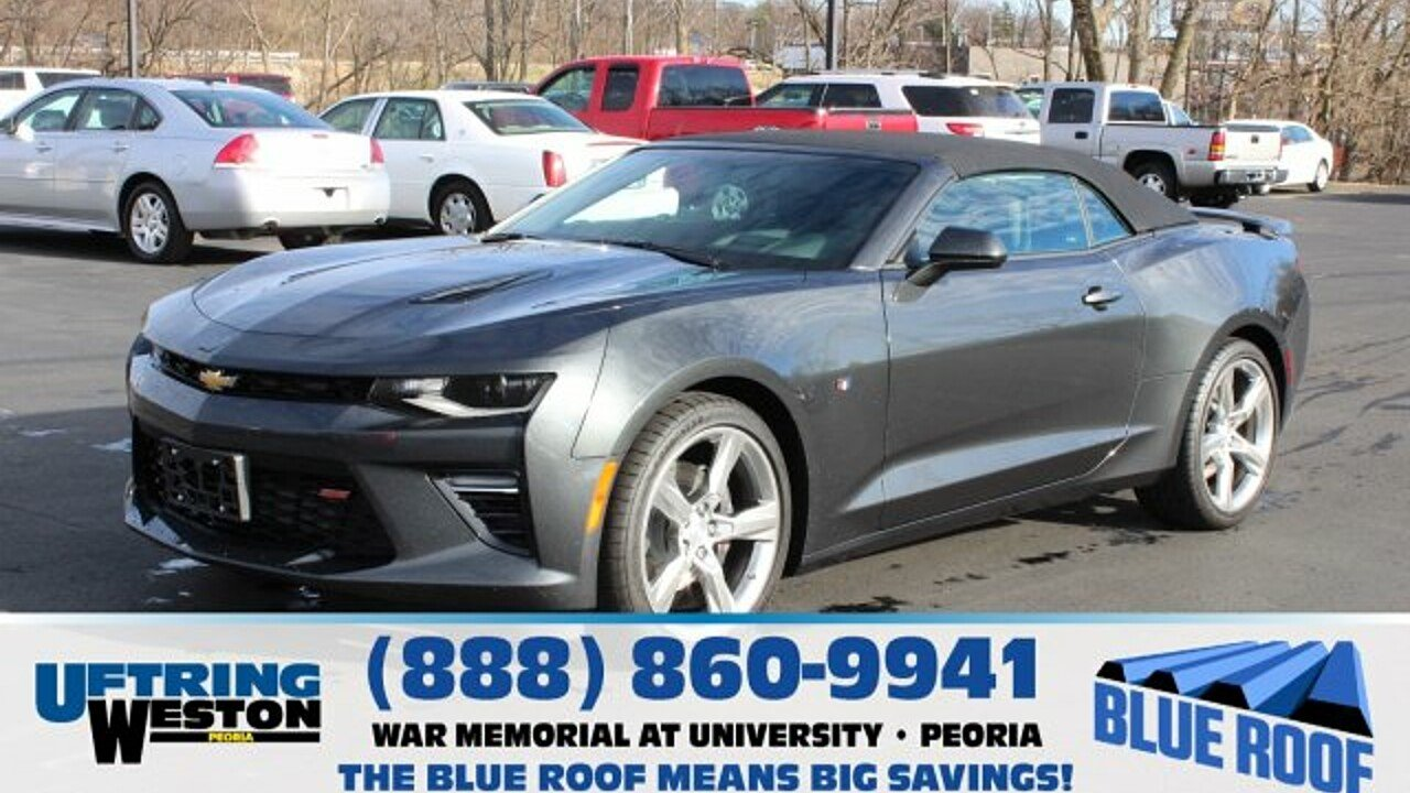 2016 Chevrolet Camaro SS Convertible for sale 100931247