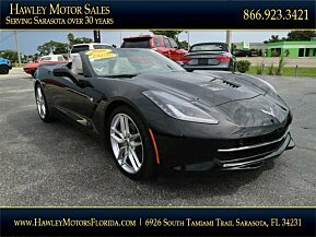 2016 Chevrolet Corvette Convertible for sale 101010184