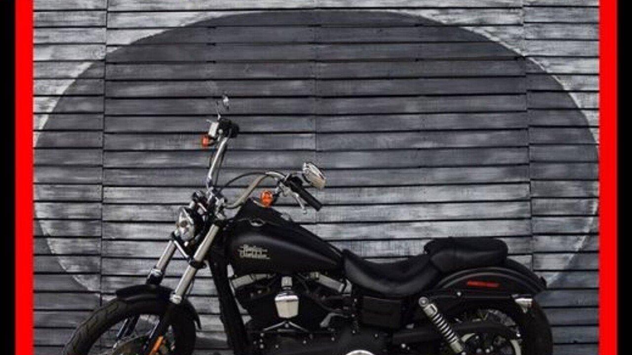 2016 Harley-Davidson Dyna for sale 200461663