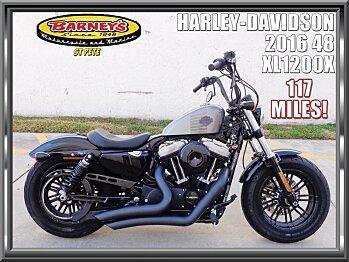 2016 Harley-Davidson Sportster for sale 200600382